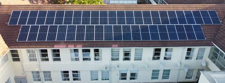 Solar PV solution for Huis Nuweland