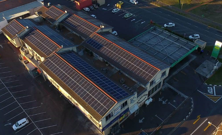 Savings from solar PV for Kenridge Centre